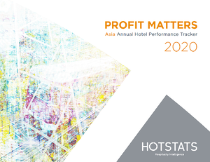Profit Matters Asia Annual Hotel Performance Tracker 2020 - Cover